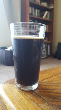 Cookie Browser Chocolate Stout (in glass)